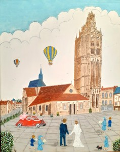 Mariage à Verneuil
