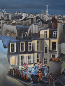 comedia del arte parisienne