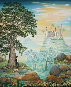 RATIER Ghislaine-A l'ombre du vieux chêne