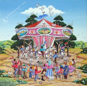 Le carrousel des chevaux)