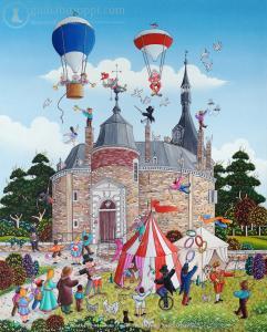 Petit Cirque au Chateau de Waroux