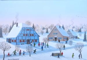 BAUQUIER Denis-Jeux d'hiver