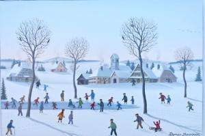 BAUQUIER Denis-Les patineurs