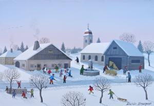 BAUQUIER Denis-Travaux d'hiver