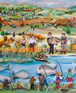 BRON Odile.concours de pêche