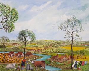 COUSTRY Thérèse -La laitière