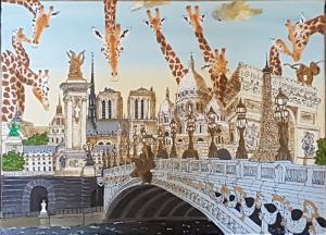 DEPUISET Elisabeth-Les girafes d'Alexandre III (2)